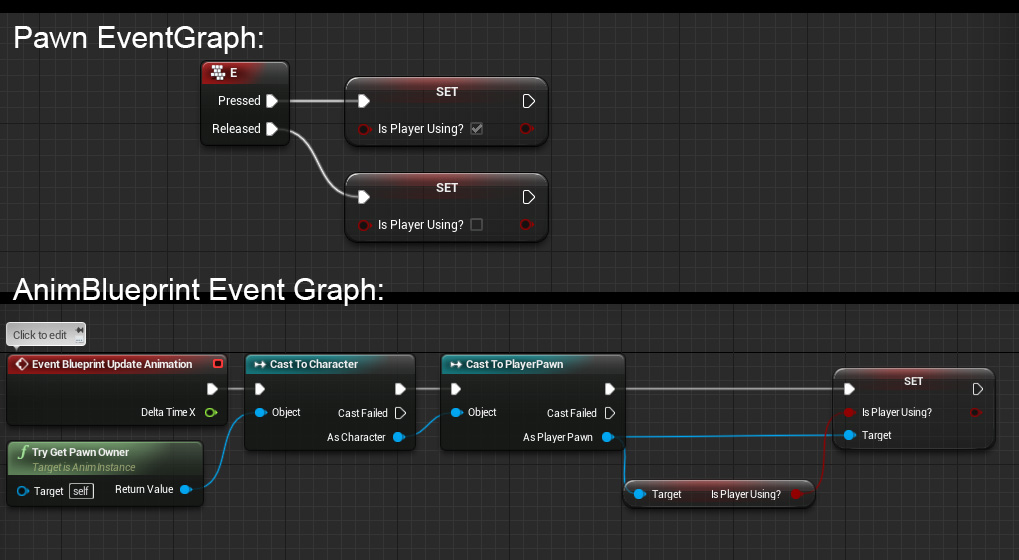 Blueprint actor set animation ue4 answerhub malvernweather Images